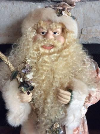 Santa old world scary