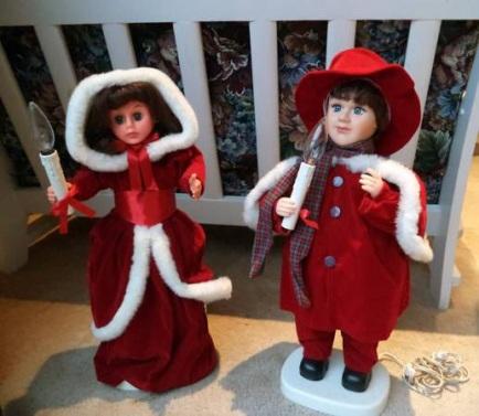 Christmas dolls 1
